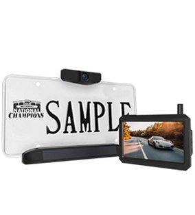 Solar Wireless Reversing Camera